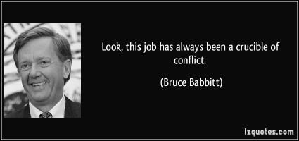 Bruce Babbitt's quote