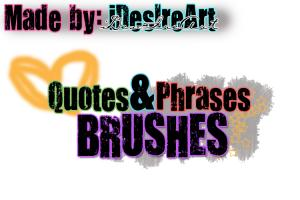 Brushes quote #1