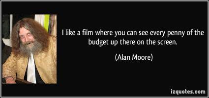 Budget Film quote