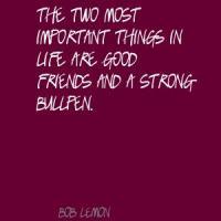Bullpen quote #1