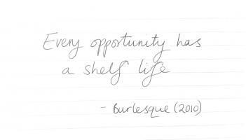 Burlesque quote