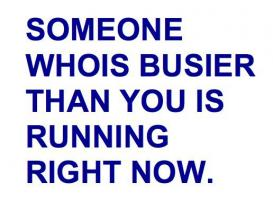 Busier quote #1