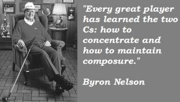 Byron Nelson's quote #2