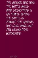Calculations quote #2