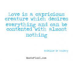 Capricious quote #2