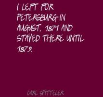 Carl Spitteler's quote #3