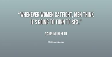 Catfight quote #2