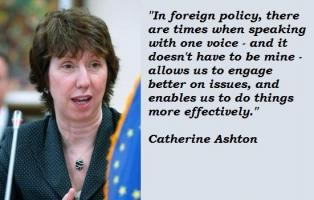 Catherine Ashton's quote #4