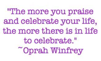 Celebration quote #2