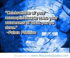 Celebrations quote #2