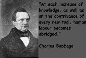 Charles Babbage's quote