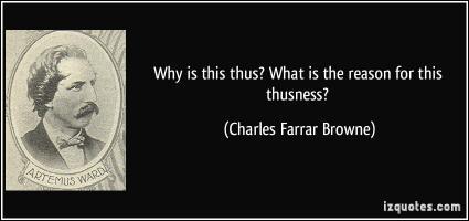 Charles Farrar Browne's quote #3