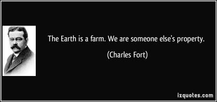 Charles Fort's quote #1