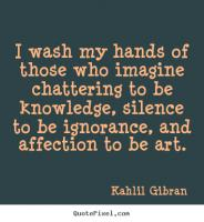 Chattering quote #2