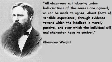 Chauncey Wright's quote
