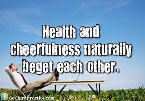 Cheerfulness quote