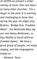 Choirs quote #2