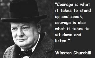 Churchill quote #1
