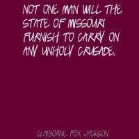 Claiborne Fox Jackson's quote #1