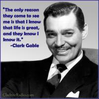 Clark Gable quote #2