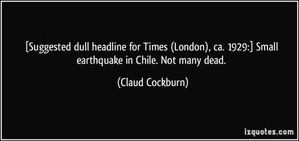 Claud Cockburn's quote #2