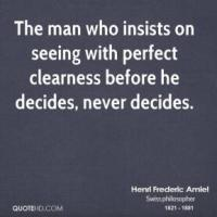 Clearness quote #1