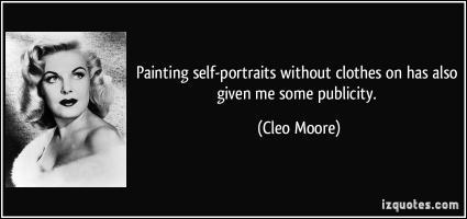 Cleo Moore's quote
