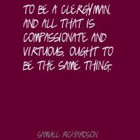 Clergyman quote #1