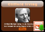 Clifford Irving's quote