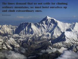 Climber quote #1