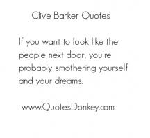 Clive Barker's quote