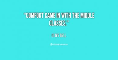 Clive Bell's quote