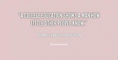 College Education quote #2
