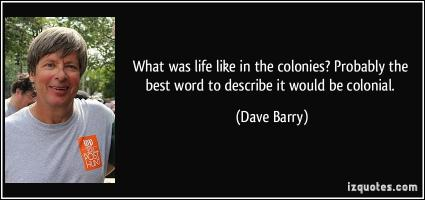Colonies quote