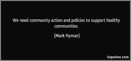 Community Action quote