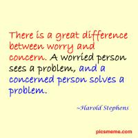 Concern quote