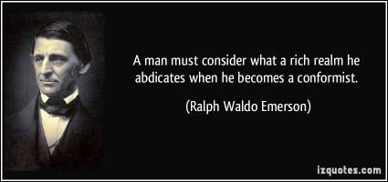 Conformist quote #1