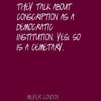 Conscription quote #2