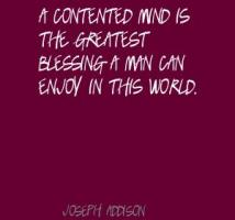 Contented Mind quote #2