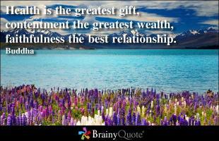 Contented quote #3