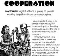 Cooperate quote #1