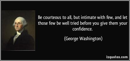 Courteous quote
