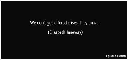 Crises quote #3