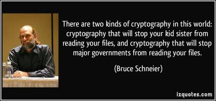 Cryptography quote #2