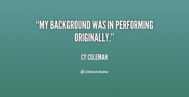 Cy Coleman's quote #6