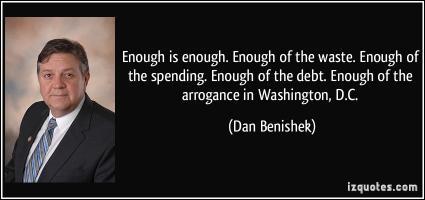 Dan Benishek's quote #1