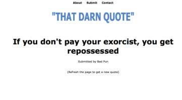 Darn quote #1