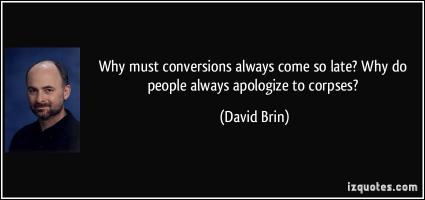 David Brin's quote