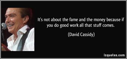 David Cassidy's quote