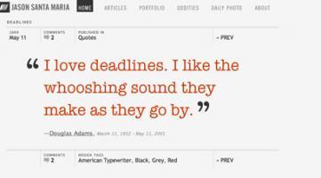 Deadlines quote #3